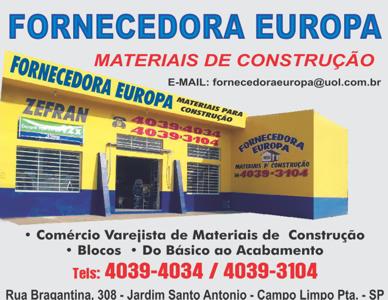 FORNECEDORA EUROPA