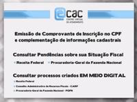 Quais os principais serviços disponíveis no eCAC?